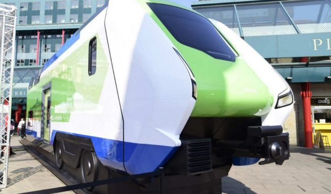 """Ferrovie, presentato il modello del treno """"Caravaggio"""" VIDEO"""