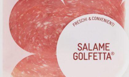 Salmonella nel salame Golfetta, Conad richiama un intero lotto