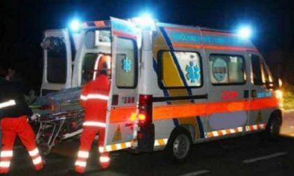 Incidente stradale e raffica di intossicazioni nel Pavese SIRENE DI NOTTE