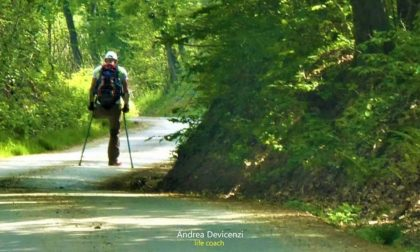 Andrea Devicenzi: una gamba sola per percorrere i 1.000 km della via Francigena