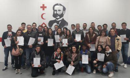 La Croce Rossa di Pavia forma 41 nuovi volontari