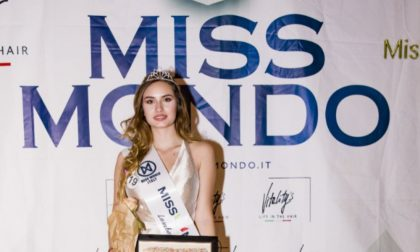 Miss Mondo Italia 2019: è pavese la più bella della Lombardia