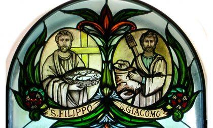 I santi del giorno sono gli apostoli San Filippo e San Giacomo