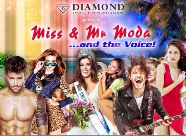 """Aperte le iscrizioni per """"Miss & Mr Moda …and the Voice"""""""