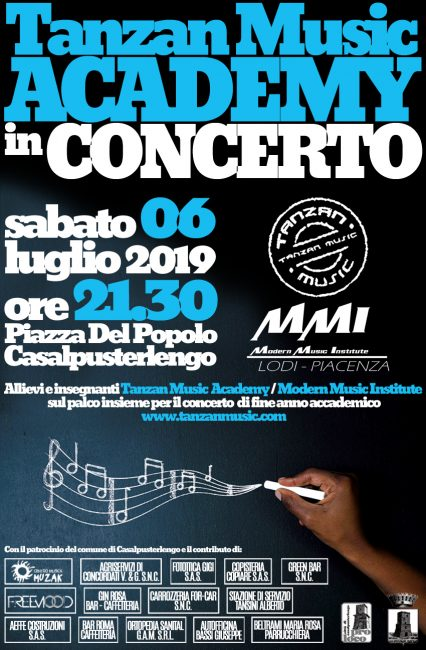 Casalpusterlengo: la Tanzan Music Academy in concerto