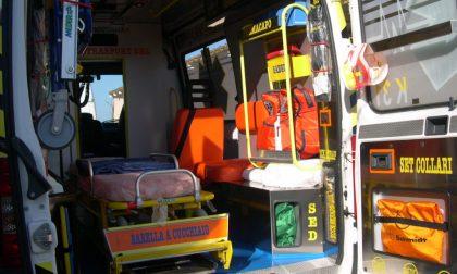 Scontro tra tre autovetture a Bornasco: tre feriti, uno grave
