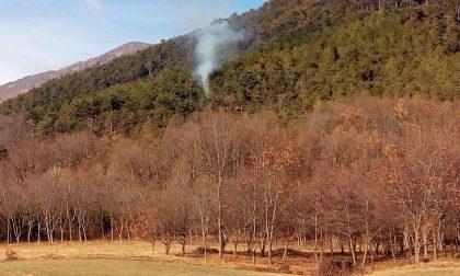 Dodici principi di incendio sulla riva del Po, è caccia al piromane