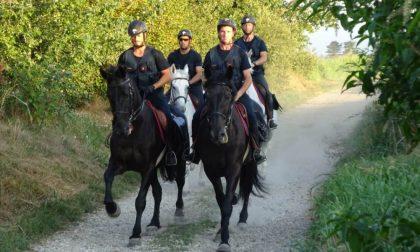 Più controlli nel weekend: nei parchi arrivano le pattuglie a cavallo