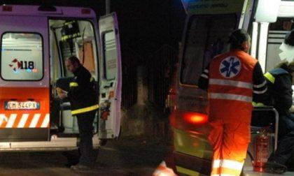 Incidente stradale a Sannazzaro: ferito un 38enne SIRENE DI NOTTE