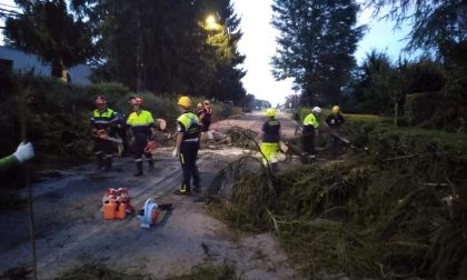 Tromba d'aria nel Pavese: danni in tutta la provincia FOTO