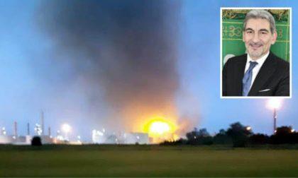 """Esplosione Raffineria Eni Sannazzaro, Cattaneo: """"Per ora non si registrano criticità"""""""