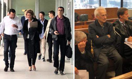 """Processo al prete che l'ha insultato, Salvini: """"Non faceva prima a chiedere scusa?"""""""