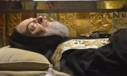 Alla Chiesa del Carmine tornano le reliquie di Padre Pio