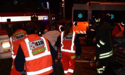 Incidente sul lavoro e un'aggressione nel Pavese SIRENE DI NOTTE
