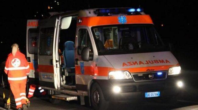 Incidente a Rivanazzano, ferite 5 persone SIRENE DI NOTTE