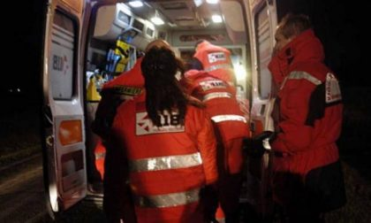Tre incidenti stradali e un infortunio SIRENE DI NOTTE