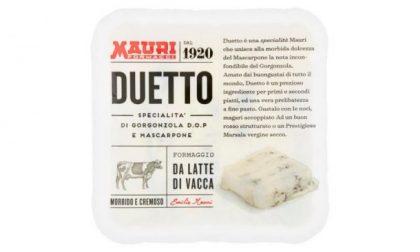 """Listeria nel gorgonzola e mascarpone """"Duetto"""" Mauri"""