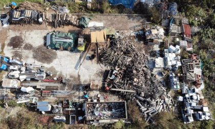 Area agricola adibita a discarica abusiva: 500 metri cubi di rifiuti a Villanterio