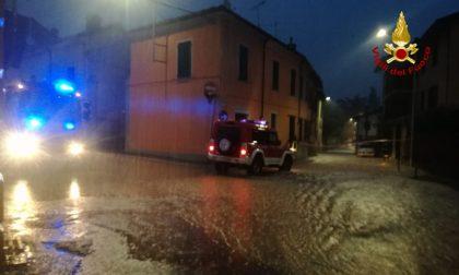 Emergenza maltempo: Rivanazzano trasformata in un fiume d'acqua VIDEO