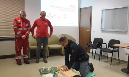 Donato un defibrillatore al Commissariato di Polizia di Stato di Vigevano