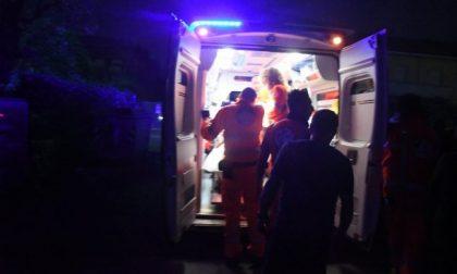 Scontro tra due auto a Gambolò: tre coinvolti SIRENE DI NOTTE