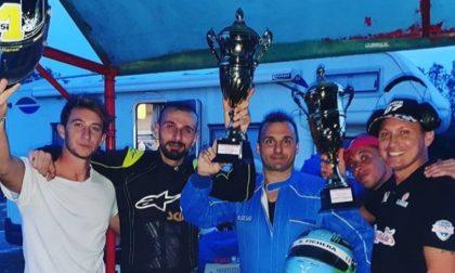 Milanesi e Fichera festeggiano la vittoria del Campionato European GSK insieme al team RKL