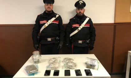 Spacciano marijuana davanti alle scuole medie: arrestati