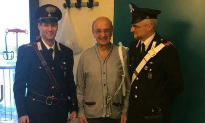 Infarto in bici: salvato dai carabinieri, il lento ritorno alla vita
