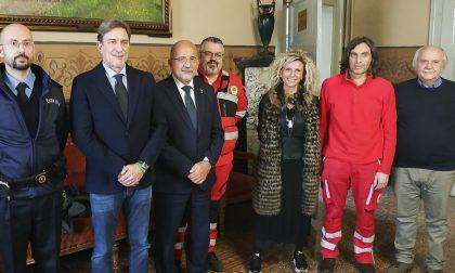 Prove tecniche di emergenza a Mortara: maxi simulazione della Croce Rossa