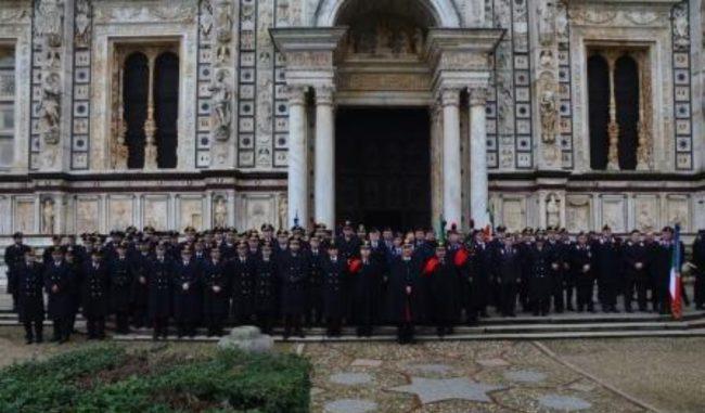 "I Carabinieri celebrano la ricorrenza della ""Virgo Fidelis"""