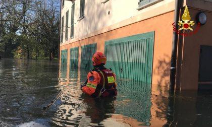 Esondazione Ticino Pavia: evacuati in gommone dal rione Borgo