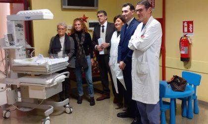 Due sedute neonatali donate all'Ospedale Civile di Vigevano