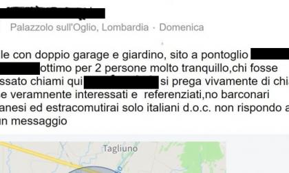 "Annuncio razzista: ""Non affitto casa ai giargianesi"""