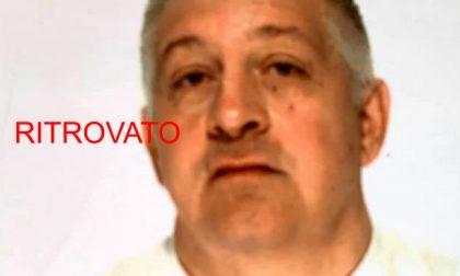 Trovato Guido Migliavacca: era scomparso da casa