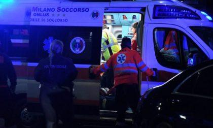 Fuori strada a Codevilla: 42enne in ospedale SIRENE DI NOTTE