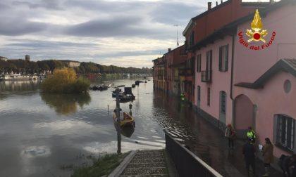 Cede tratto di sponda del Ticino: chiusa la vecchia Francigena