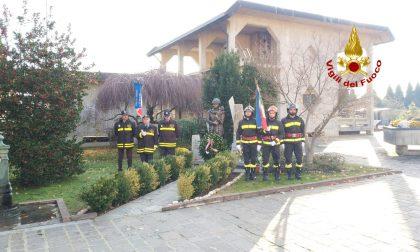 I vigili del Fuoco di Pavia celebrano Santa Barbara nel ricordo dei colleghi morti