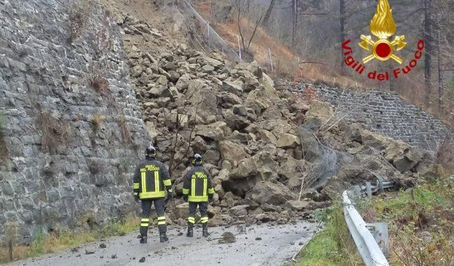 Smottamento in Oltrepò Pavese: sgomberate tre case a Broni