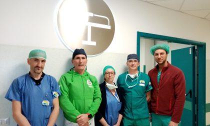 Rarissimo intervento al San Matteo, operata a puntate: salvata