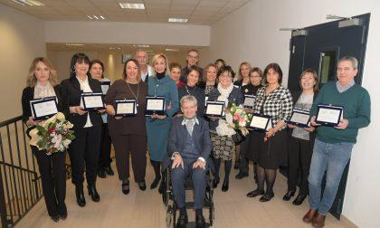 Nozze di perla e d'argento con la Maugeri: festa per 21 dipendenti a Pavia