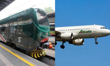 Oggi sciopero Alitalia, domenica tocca a Trenord