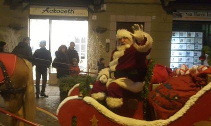 Mi è sembrato di vedere un Babbo Natale in giro per Voghera.. FOTO
