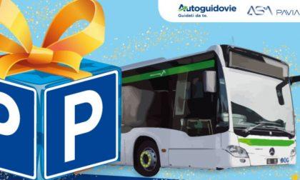 A Pavia parcheggi e bus gratis per Natale