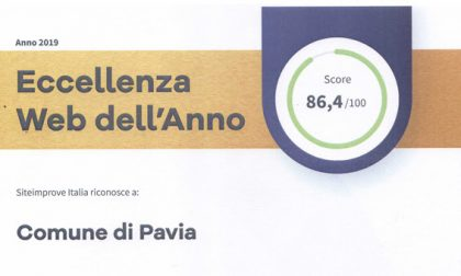 """Il sito del Comune di Pavia vince il premio """"Eccellenza Web 2019"""""""