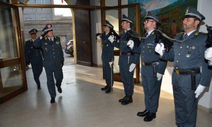 Il comandante Regionale della Guardia di Finanza in visita alla sede di Pavia