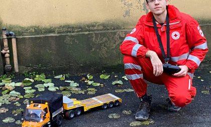 Modellini radiocomandati in corsia: l'idea della Croce Rossa di Voghera