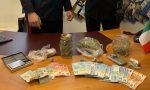 Hashish e marijuana in auto: arrestati due giovani italiani