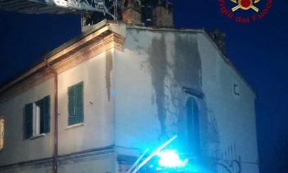 Incendio canna fumaria a Mezzanino: arrivano i Vigili del Fuoco