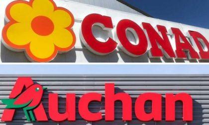 Lavoratori Conad Auchan, attivata la procedura di licenziamento collettivo