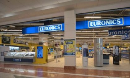 Galimberti (socia Gruppo Euronics) insolvente: a rischio anche i 15 lavoratori del negozio di Pavia
